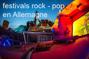 Festivals Rock Pop en Allemagne